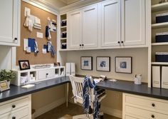 Tired of Your Home Office? Built-In Cabinets Just Might Work For You! - Tired of your Home Office? Built-in Cabinets just might work for you! Craft Room Office, Home, Built In Cabinets, Office Built Ins, Home Office Design, Craft Room Design, Home Office, Office Design, Eclectic Home
