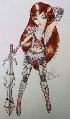 TOPModel Warrior Princess by LovedAngelxX on DeviantArt