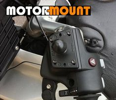 """Motorcycle Scooter Angled Base Mount with 9mm Hole /& 1/"""" Ball Genuine Ram Mount"""
