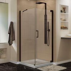Aquadica 30 Inch X 30 Inch X 72 Inch Frameless Square Shower Stall