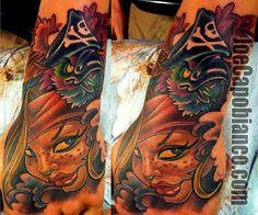 Tattoo by Joe Capobianco - The Capo Girl