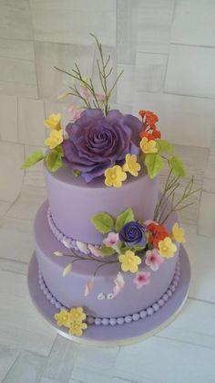 Lila cake - Cake by daneta