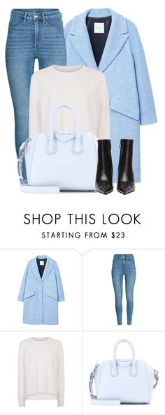 """""""20:48"""" by monmondefou ❤ liked on Polyvore featuring MANGO, Sweaty Betty, Givenchy, Balenciaga and Blue"""