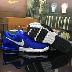 Nike Running 2017 New Nike Zoom Train Action Royal Blue White Shoe For Discount