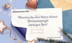 HIT Fact 12: Stress lässt den Histaminspiegel ansteigen