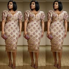 65 Inspiring Cordlace Aso ebi Styles for Beautiful Women - iFashy African Wear, African Dress, African Fashion, Event Dresses, Occasion Dresses, Formal Dresses, Nigerian Dress, Aso Ebi Styles, Ankara Styles