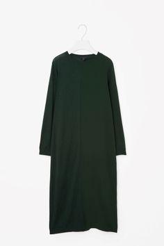 Merino wool and silk dress