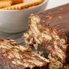 Tarta rápida de galletas maría. Recetas para niños Jello Cake, Biscuits, French Toast, Bakery, Sweets, Cooking, Breakfast, Desserts, Recipes