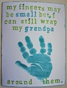 Everyone knows Grandma and Grandpa are the best source for everything from cookies and hugs to love and praise—so it's only right that they get a holiday devoted to them. National Grandparents Day is (Best Gifts For Grandparents) National Grandparents Day, Grandparents Day Crafts, Fathers Day Crafts, Grandparent Gifts, Fathers Day Ideas, Baby Crafts, Toddler Crafts, Crafts For Kids, Grandma And Grandpa