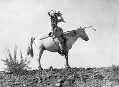 Blackfoot rider. 1911. Source - Library and Archives Canada.