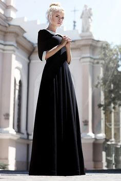 Get this look: http://lb.nu/look/7539756  More looks by Kristina Dolinskaya: http://lb.nu/kristina_doli  Items in this look:  Yuliya Babich Black Dress By Fashion Designer