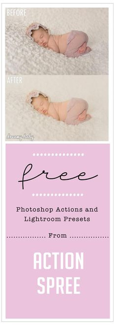 Free Photoshop Actions and Free Lightroom Presets from Action Spree