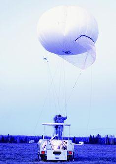 ZART 180。ロシアのウドムルト共和国に拠点を置くZALA Aeroによって発表された監視などに対応する無人型バルーンの一つ。上空に浮かびつつ基地の警備など継続的なミッションを実施できる。トラックなどで運べる。