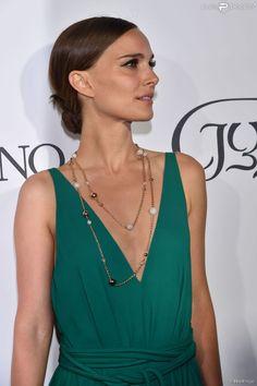 Natalie Portman (robe Lanvin) - Photocall de la soirée de Grisogono à l'hôtel Eden Roc au Cap...