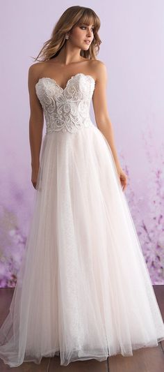 Wedding Dress by Allure Romance #weddingdress #bridalgown #bridal #bride #bridalgown #weddinggown #bridaldress
