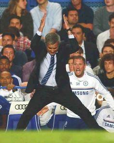 Lol... :D  It's Mourinho Style... :D