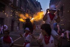 San Fermin festival 2015: Running of the bulls