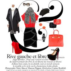 """Rive Gauche..."" by camille-vickery on Polyvore"