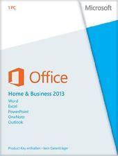 Microsoft Office Home and Business 2013 ESD Vollversion für 1 PC  32/64 bit