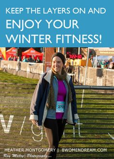 Top 8 Tips for Exercise in Cold Weather - Brrr! Yep, it's winter. Nope, you can't skip your workout! Read my post this week for tips on cold weather fitness.