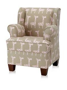 Skyline Kids Giraffe Wingback Chair