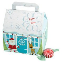 Snowflake Wishes House Shaped Treat Box by Wilton