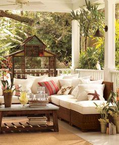 Gorgeous coastal verandah