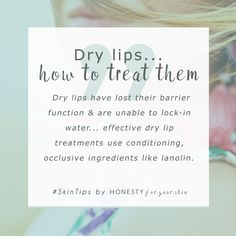 If you always have dry lips, your lips have lost the ability to lock in water. they now need help to rehydrate. Dry lips are best treated with conditioning occlusive ingredients like lanolin. Click above to find out more. Source by corrine_lcm lips Beauty Care, Beauty Hacks, Beauty Tips, Beauty Skin, Beauty Quotes, Beauty Ideas, Beauty Secrets, Diy Beauty, Skin Tips