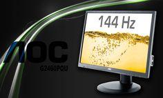 #Test #AOC G2460PQU. 144 herce gamingowej rozpusty #144hz #gaming