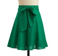 Love the color and the bow on the front -ModCloth