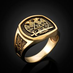 If you're planning to buy a masonic ring, then it implies that you are a member of Freemason.