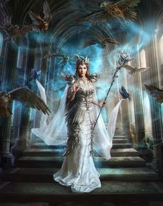Laura Sava is a freelance illustrator and artist from Timisoara, Romania. Laura's fantasy themed paintings and illustrations are gorgeous and full of detail. Fantasy Women, Fantasy Girl, Fantasy Artwork, Fantasy Creatures, Mythical Creatures, Character Inspiration, Character Art, Cover Wattpad, Fantasy Pictures