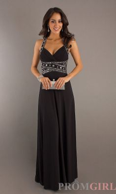 Long Open Back Prom Dresses, Sexy Evening Gown for Prom- PromGirl