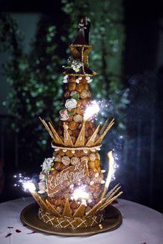 Croquembouche wedding cake France www.artisstudios.com/