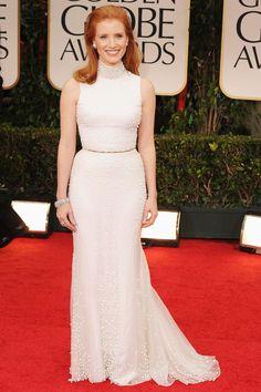 Golden Globes Dresses, Fashion & Pictures 2012 | British Vogue