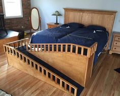 Diy Dog Ramp Best Of Amazing Diy Pet Ramp Link to Included for Details. Dog Ramp For Bed, Pet Ramp, Diy Dog Bed, Bed For Dogs, Homemade Dog Bed, Bunk Beds With Stairs, Kids Bunk Beds, Dog Stairs For Bed, Dog Furniture