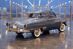 Loewy 1951 Studebaker Champion Starlight w/ wrap-around airplane style rear windows