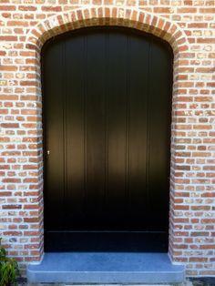 Garage Doors, Outdoor Decor, Home Decor, Black Doors, Decoration Home, Room Decor, Home Interior Design, Carriage Doors, Home Decoration