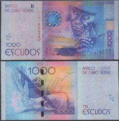 Cape Verde 1,000 Escudos, 2014, New,
