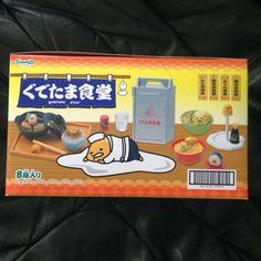 リーメント 『ぐでたま食堂』 全8種入りBOX 「サンリオキャラクター」シリーズ ぷちサンプルタイプ_画像2
