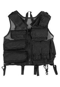 8518f772007  199.99 G I Plus Black Ultimate Tactical Vest