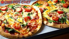 """NEW VIDEO: """"No Dough"""" Make Your Own Pizza Party! Watch the full recipe video here: https://youtu.be/MlS_mUugsI0"""