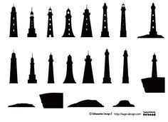 Lighthouses .... beautiful one to make....