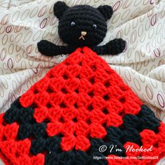crochet lovey, free pattern