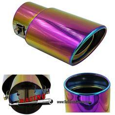 Punta Embellecedor Tubo de Escape 60mm con Acabado Rosa FADED PINK Universal -- 9,40€