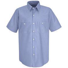 Industrial Striped Work Shirt<br>SP20</br>