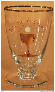 verre de communion - Delcampe.net