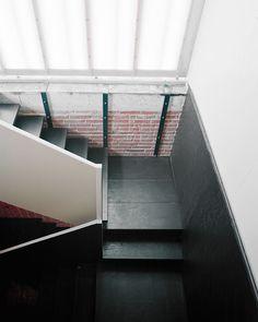 Image 7 of 37 from gallery of Skjern River Pump Stations / Johansen Skovsted Arkitekter. Photograph by Rasmus Norlander Danish Style, Stair Steps, Construction, Staircase Design, Stairways, Denmark, Indoor, Pumps, River
