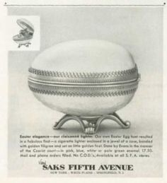 '50s Easter Ad - Saks Fifth Avenue