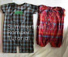 summer romper tutorial